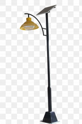 Yellow Shade - Solar Energy Solar Street Light PNG