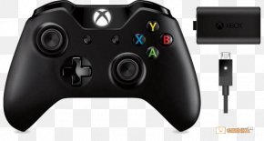 Microsoft - Xbox One Controller Xbox 360 PlayStation 2 Kinect Video Game Console Accessories PNG