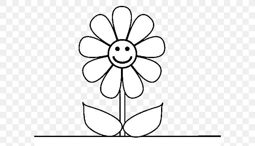 Drawing How To Draw Flower Image Coloring Book, PNG ...