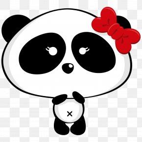 Panda - Giant Panda Bear Pandas Drawing Clip Art PNG