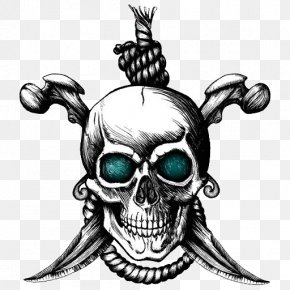 Totenkopf - Jolly Roger Stock Photography Piracy PNG
