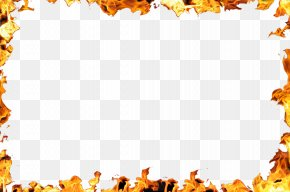 Flame Border - Flame Fire Clip Art PNG