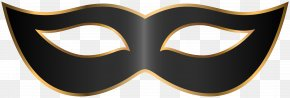 Black Carnival Mask Clip Art Transparent Image - Logo Eyewear Font PNG