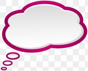 Bubble Speech Pink White Clip Art Image - Speech Balloon Bubble Clip Art PNG
