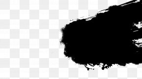 Brushes - Monochrome Photography Canvas Print Kingdom Hearts Black And White PNG