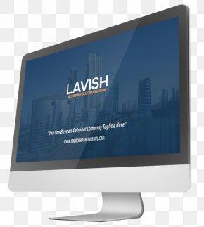 Computer - Computer Monitors Output Device Desktop Wallpaper Display Advertising PNG