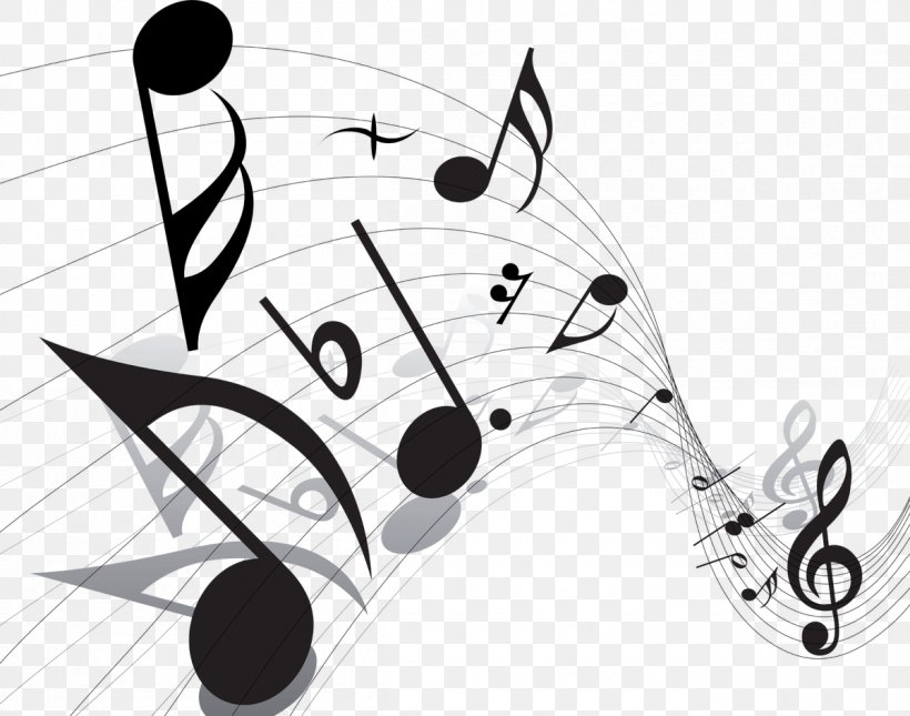 Vector Graphics Musical Note Clip Art, PNG, 1200x945px, Music, Blackandwhite, Coloring Book, Dance, Free Music Download Free