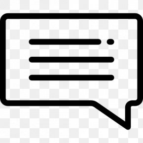 Symbol - Communication Online Chat Text PNG
