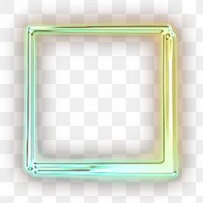 Picture Frame Aqua - Picture Frame Frame PNG