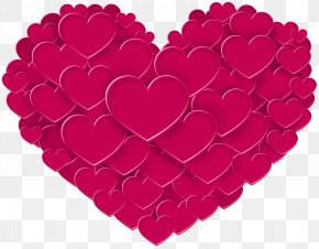 Heart PNG Clip Art - Valentine's Day Heart Gift February 14 Clip Art PNG