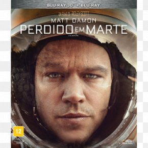 Dvd - The Martian Blu-ray Disc Mark Watney Ultra HD Blu-ray Matt Damon PNG