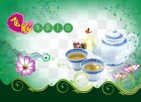 Tea - Green Tea Poster Download PNG