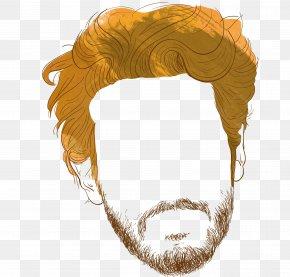 Man Face - Man Beard Hairstyle PNG
