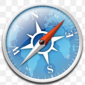 Apple - Apple Web Browser Compass Safari Light-emitting Diode PNG
