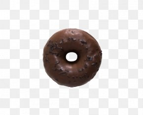 Donut - Chocolate Brown Product PNG