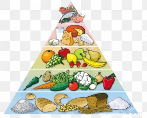 Health - Food Pyramid Healthy Diet Eating Nutrition PNG