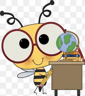 Schoolnotes 2.0 - Bee Elementary Mathematics School Clip Art PNG