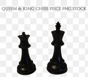 King - Chess Piece Queen King Staunton Chess Set PNG