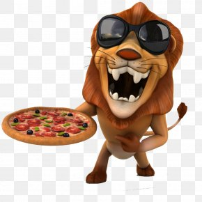 A Pizza Lion - Lion Leopard Royalty-free Illustration PNG