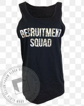 Holographic Foil Garments - T-shirt Gilets Active Tank M Sleeveless Shirt PNG