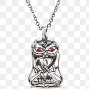 Inspired By The Green Skateboards Owl - Locket Charms & Pendants Necklace Jewellery Gold PNG
