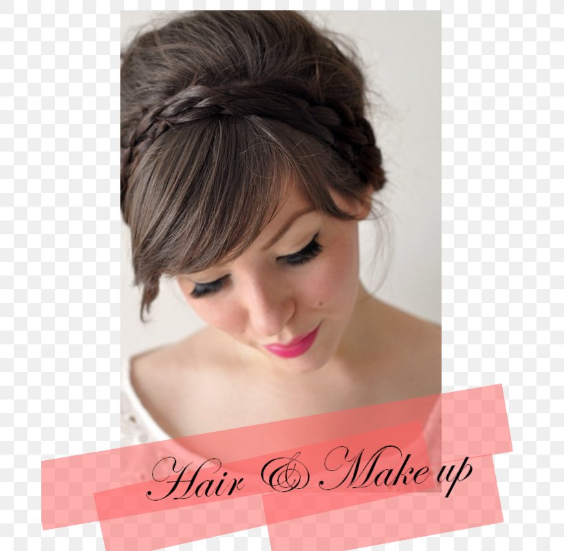 Updo Hairstyles With Bangs For Black Women 93