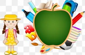 School - School Supplies PNG