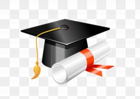 Dr. Cap - Square Academic Cap Graduation Ceremony Diploma Clip Art PNG