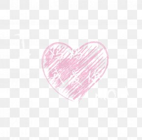 Mom, I Love You - Heart Pink Petal Pattern PNG