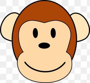 Cartoon Ape - Ape Chimpanzee Clip Art Gorilla Monkey PNG