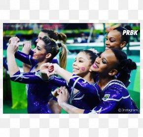 Olimpiadas - Rebeca Andrade Flávia Saraiva 2016 Summer Olympics Rio De Janeiro Team Sport PNG