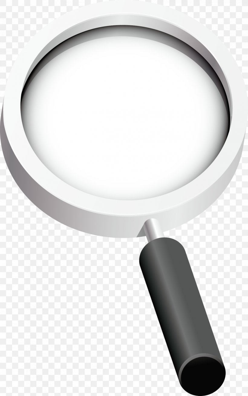 Magnifying Glass Euclidean Vector, PNG, 1211x1936px, Magnifying Glass, Black And White, Element, Hardware, Hardware Accessory Download Free