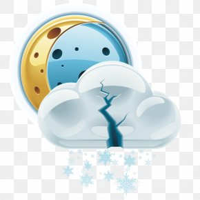 Vector Snow Weather Forecast - Rain Icon PNG