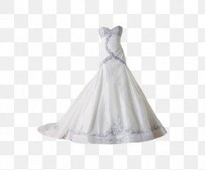 White Bra Wedding - Wedding Dress Clip Art PNG