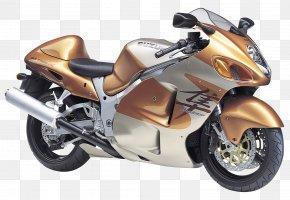 Suzuki GSX1300R Gold Motorcycle Bike - Suzuki Hayabusa Motorcycle Suzuki GSX Series Sport Bike PNG