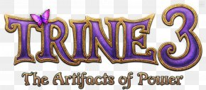 Trine - Trine 3: The Artifacts Of Power Trine 2 Logo Game PNG