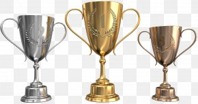 Trophy Temporary Picture - Trophy Silver Gold PNG
