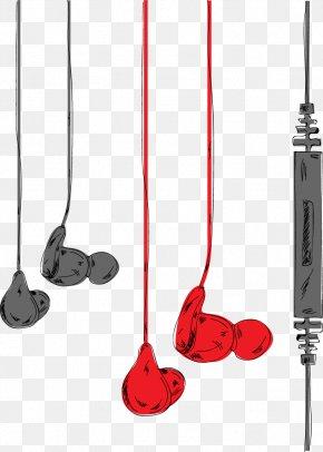 Vector Headphones - Headphones Euclidean Vector Computer File PNG