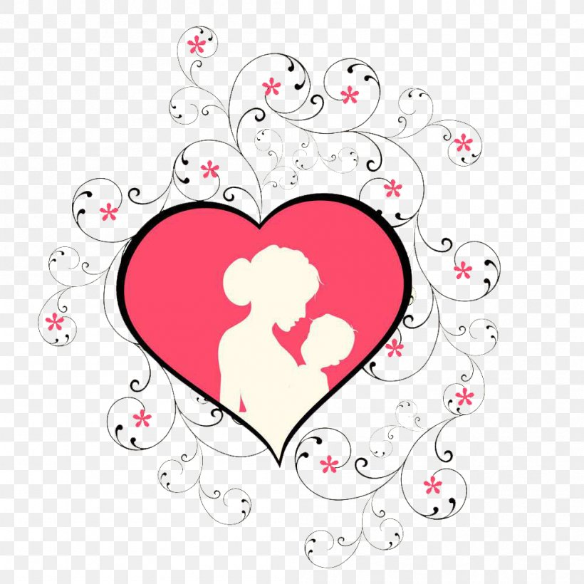 Mother's Day Child Clip Art, PNG, 999x1000px, Watercolor, Cartoon, Flower, Frame, Heart Download Free