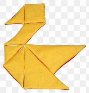 Triangular Pieces - Tangram Textile Puzzle Tutorial PNG