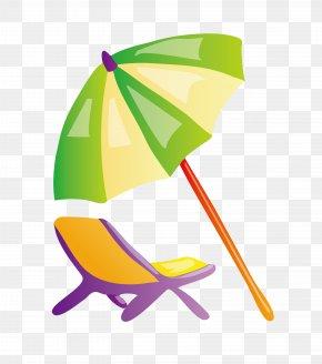 Parasol - Beach Ball Clip Art PNG