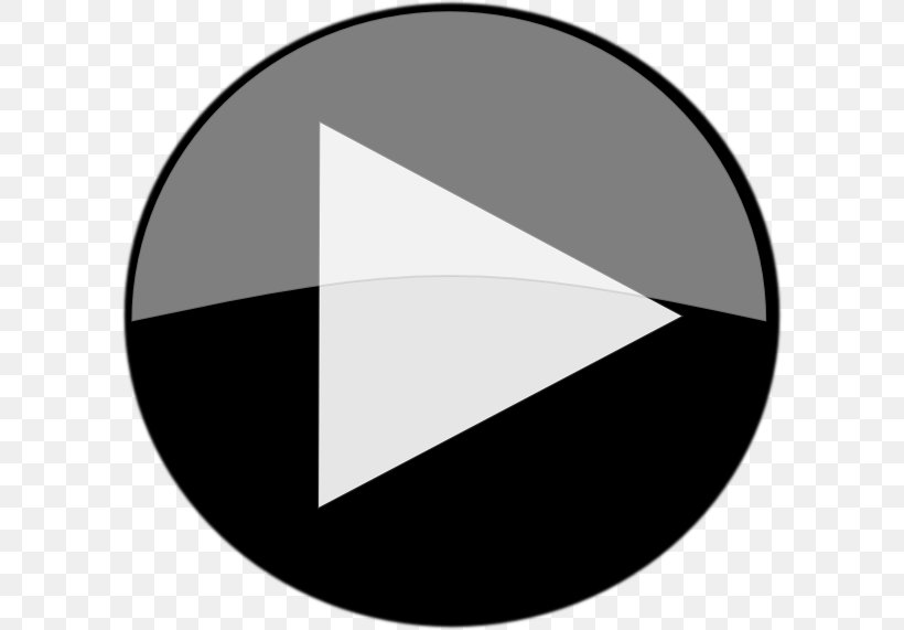 Youtube Play Button Clip Art Png 600x571px Button Black