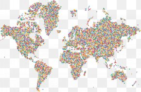 World Map - World Map World Map Map Collection PNG