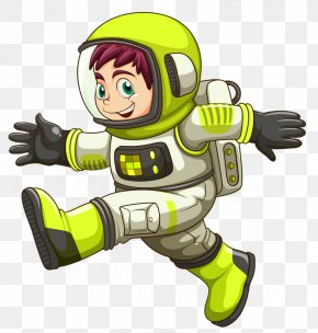 Astronaut - Astronaut Space Suit Cartoon Stock Photography PNG