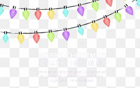 Bright Christmas Lights Vector Material - Christmas Lights Euclidean Vector PNG