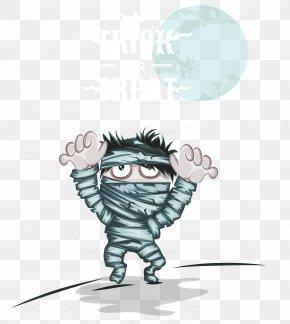 Halloween Mummy - Halloween Illustration PNG