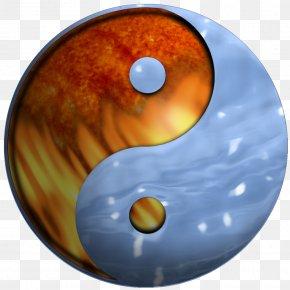 Yin Yang - Yin And Yang Symbol Fire PNG
