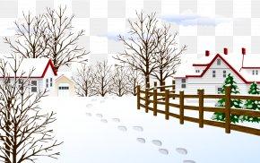 Vector Beautiful Winter Snow - Winter Pixel PNG
