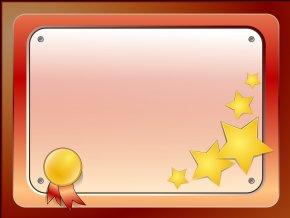 Certificate Template - Template Glitter PNG
