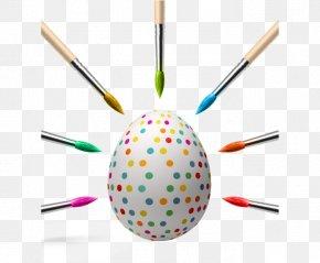 Shuiyu Dot Eggs - Easter Bunny Easter Egg Creativity PNG
